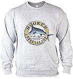 Hooker Specialist Angler Sweater for Boys, Farbe Grau, Pop Art Style