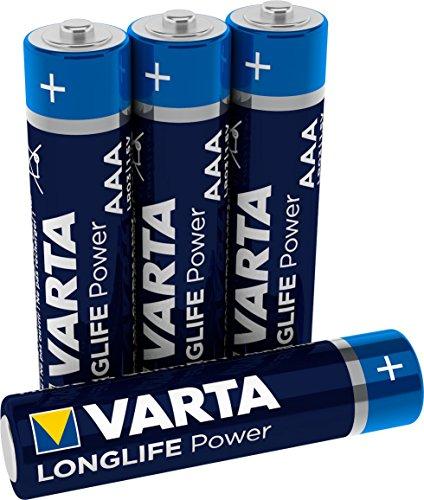 Varta High Energy AAA Micro Batterien 4er Blister
