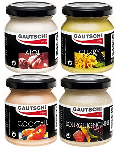Gautschi Dip Saucen Set 4x115g