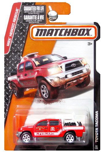 matchbox-2015-release-red-toyota-tacoma-san-dieco-fire-rescue-lifeguard-59-120-by-matchbox