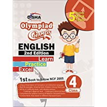 Olympiad Champs English Class 4 with with 5 Mock Online Olympiad Tests