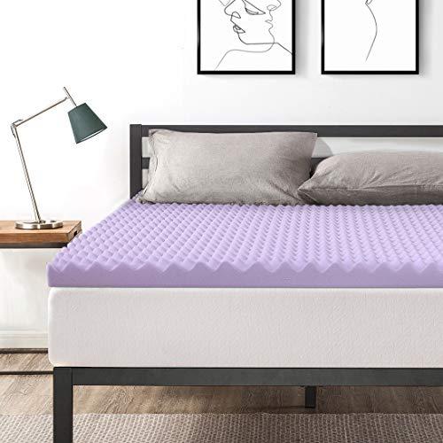 Best Price Matratzenauflage für Queensize-Betten, 7,6 cm, aus Memory-Schaum Lavendel Queen Lavendel - Queen-memory-schaum