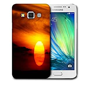 Snoogg Amazing Sunset Designer Protective Phone Back Case Cover for Samsung Galaxy A3