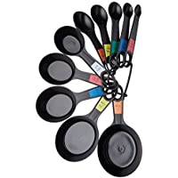 Kitchen Craft–Cucharas y Tazas medidoras deplástico (10Unidades)