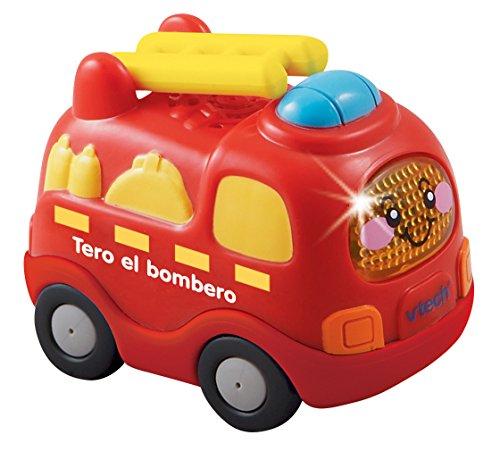 Tut Tut Bólidos - Vehículo de juguete, Tero el bombero (VTech 3480-119822)