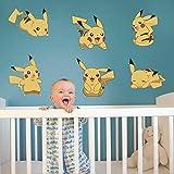 Cartoon Pokemon Go Wall Stickers Per Bambini Camere Decalcomanie Da Muro Poster Camera Decorazione Poster Vivaio Bambini Camera Decalcomanie