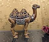 HFJ&YIE&H Américain élégant et créatif chameau bijoux pratique bijoux boîte décoration cadeaux artisanat ornements 31 * 12 * 30