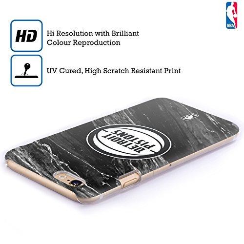 Ufficiale NBA Camouflage Digitale Detroit Pistons Cover Retro Rigida per Apple iPhone 6 Plus / 6s Plus Marmo B&N