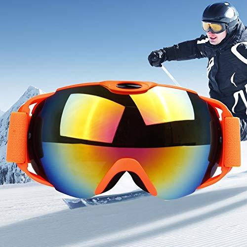 Duhongmei123 Mode Brillen H012 Unisex-Dual-Layer-Weitsicht Anti-Fog Windschutz UV-Schutz Sphärische Brille mit verstellbarem Gurt Occhiali (Artikelnummer : Og5220h)
