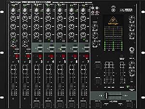 Behringer DX2000USB Pro Table de mixage professionnelle DJ 7 canaux avec VCA Crossfader