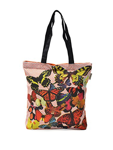 Pick Pocket Women's Tote Bag ( Multicolor,tofly49)  available at amazon for Rs.199