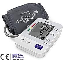 Tensiómetro de Brazo Digital, Hylogy Pantalla Grande Tensiómetro, Memoria (2 * 90) Certifica FDA CE