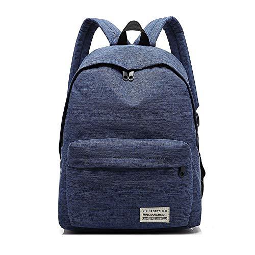 Egab Classic Backpack (Navy Blue)