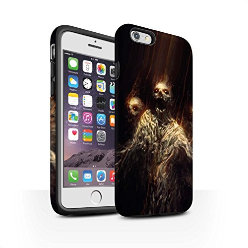 Offiziell Chris Cold Hülle / Matte Harten Stoßfest Case für Apple iPhone 6 / Dunkelste Stunde Muster / Dämonisches Tier Kollektion Ghouls der Furcht