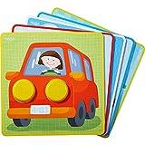 Haba 303277 Zuordnungsspiel Kunterbunte Fahrzeug-Welt