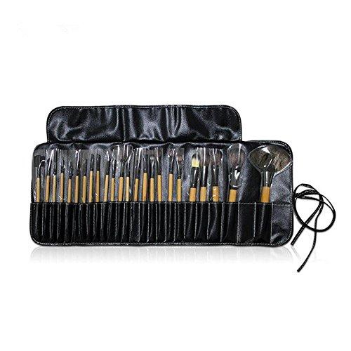 24 PCS Maquillage Brush Set Maquillage Des Yeux Blush Contour Lèvres Concealer Brosses Cosmétiques