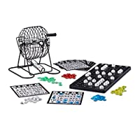 Relaxdays-Bingo-Spiel-mit-Metalltrommel-HxBxT-20-x-175-x-215-cm-Bingotickets-Loskugeln-Chips-Spielbretter-schwarz Relaxdays Bingo Spiel mit Metalltrommel HxBxT: 20 x 17,5 x 21,5 cm Bingotickets, Loskugeln, Chips, Spielbretter, schwarz -