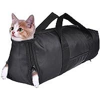 Jannyshop Katze Pflege Tasche Cat Grooming Bag sich für Haustier Katzen kleine Hunde Nail Trimmen (S)