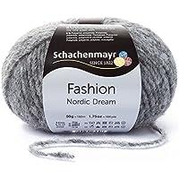 Hilo para tejer a mano Schachenmayr Nordic Dream 9807575, lana, gris (melange), 13  x  13  x  6 cm