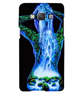 PrintVisa Hot & Sexy Girl 3D Hard Polycarbonate Designer Back Case Cover for Samsung Galaxy A7