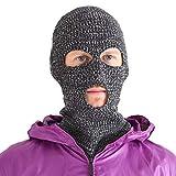 Casualbox Ski Maske Winter voll Gesicht Abdeckung Paintball Schutz Beanie Sturmhaube Sport Mix Schwarz