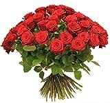 ROSENSTRAUß | Blumenstrauß mit ROTEN ROSEN XXL |