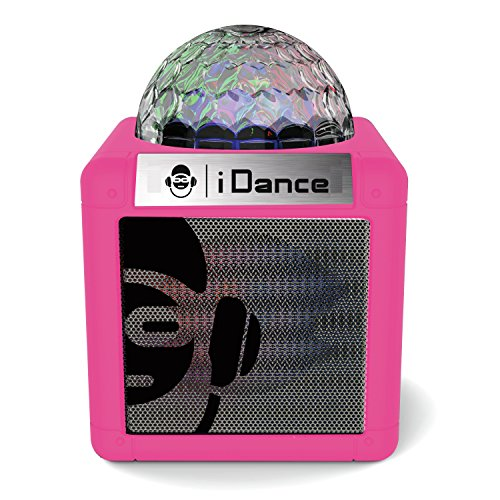 iDance CN2PK - Altavoz portátil Bluetooth (5W, aux-in) Color Rosa