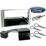 1 DIN Autoradio RadioRahmen RadioBlende einbause für Ford Fiesta/Focus/C-max