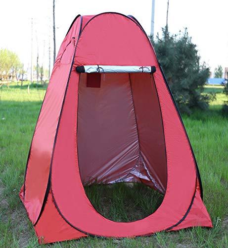 dylisy Outdoor Angeln Markise Wasserdichte Sonnencreme Camping Dressing Feld Wc Einfache Zelt 150X150X190Cm -