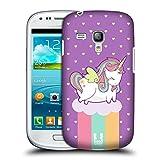 Head Case Designs Regenbogen Phantastische Einhörner 2 Chubby Ruckseite Hülle für Samsung Galaxy S3 III mini