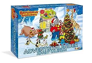 CRAZE Calendario de Adviento Benjamín, el elefante 2019 calendario de juguete para los niños para Navidad 19498