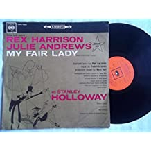 REX HARRISON & JULIE ANDREWS My Fair Lady soundtrack LP