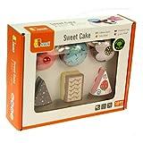 Viga - Kuchen- und Gebäckstücke aus Holz - 6 Stück -