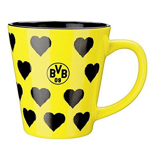 BVB Borussia Dortmund TASSE MIT HERZEN