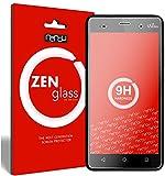 nandu I ZenGlass Flexible Glas-Folie für Wiko Lenny 3 Panzerfolie I Bildschirm-Schutzfolie 9H I (Kleiner Als Das Gewölbte Bildschirm)