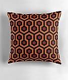Hiaopp Teppich Muster–Shining Quadratisch Dekorativer Überwurf-Kissenbezug 45,7x 45,7cm