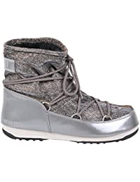 Moon Boot Mujer 24005600002G Gris Poliéster Botines