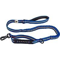 [Gesponsert]Hundefreund Elastische Hundeleine 120 cm Blau-Orange Führleine