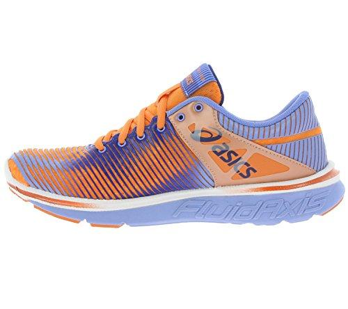 Asics  GEL SUPER J33, Damen Laufschuhe, Mehrfarbig orange/blau