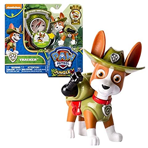 Paw Patrol - Action Pack Pups Deluxe Figure to choose from, Maja:Tracker