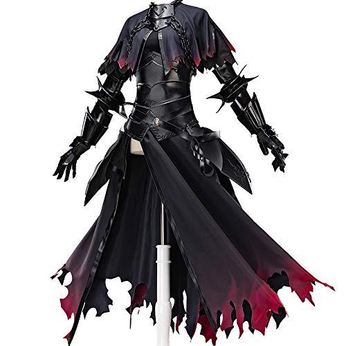 Sexy Cosplay Kostüm Damen Spiel Schicksal/Großauftrag Jeanne D'arc Alter (J'alter) Cosplay Damen Mädchen Kostüm Halloween (Sexy Link Kostüm)