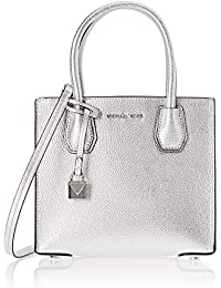 Michael Kors Mercer Signature Medium Messenger Bag, borsa Donna