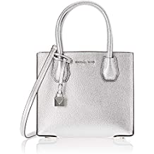 MICHAEL KORS BORSE 30H6MM9M2M 040 Silver Michael Michael Kors Bag Donna  Borsa A Mano cbb0cbce12