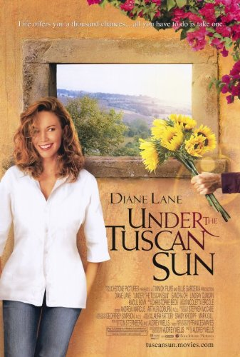 Unter der Sonne der Toskana Poster Film 68,6x 101,6cm–69cm x 102cm Diane Lane Sandra Oh Lindsay Duncan Raoul BOVA Vincent riotta Mario MONICELLI