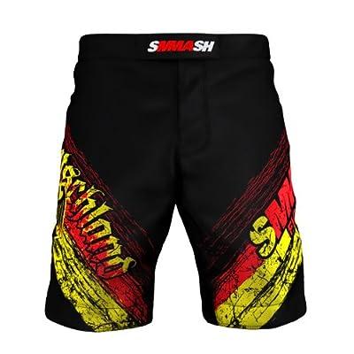SMMASH MMA Shorts GERMANY S M L XL XXL MMA BJJ UFC Boxen Kampfsport K1 von SMMASH X-WEAR bei Outdoor Shop