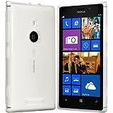 Nokia lumia 925 Hülle - Silikonhülle Case Schutzhülle Cover für Nokia lumia 925 (Transparent)