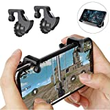 ASKFRDPUBG Gaming Trigger for Mobile Joystick for Mobile Controller Fire Button Assist Tool Gamepad Trigger with Fire Shooter Aim Key Button/ Knives Out/ Critical Ops/Rules of Survival (All Smartphones)