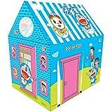 iToys Kid's Non-Woven Fabric Doraemon Pipe Play Tent (Multicolour)