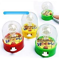 Mini Pocket Baloncesto Palm Baloncesto Juego de disparos Juguetes para niños Color aleatorio