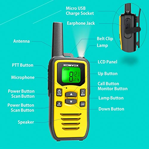 Zoom IMG-3 professionali radio walkie talkie pmr